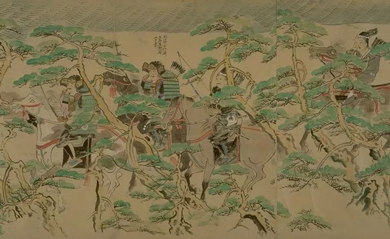 日本传世名画《蒙古袭来绘词》 第12张