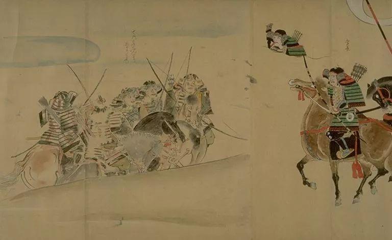 日本传世名画《蒙古袭来绘词》 第14张