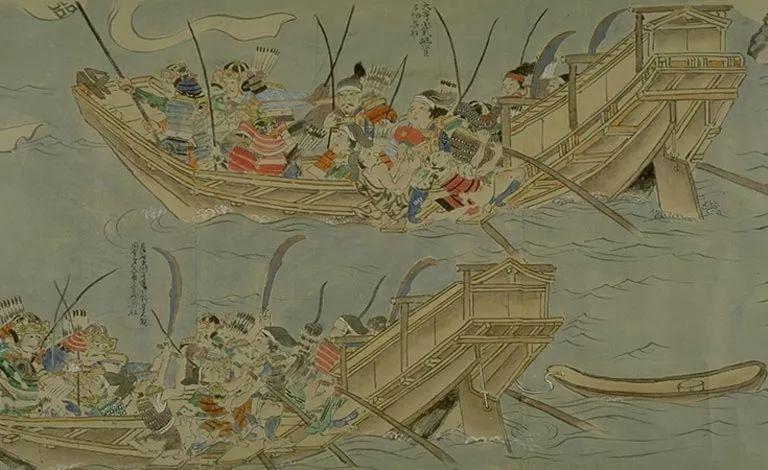 日本传世名画《蒙古袭来绘词》 第17张