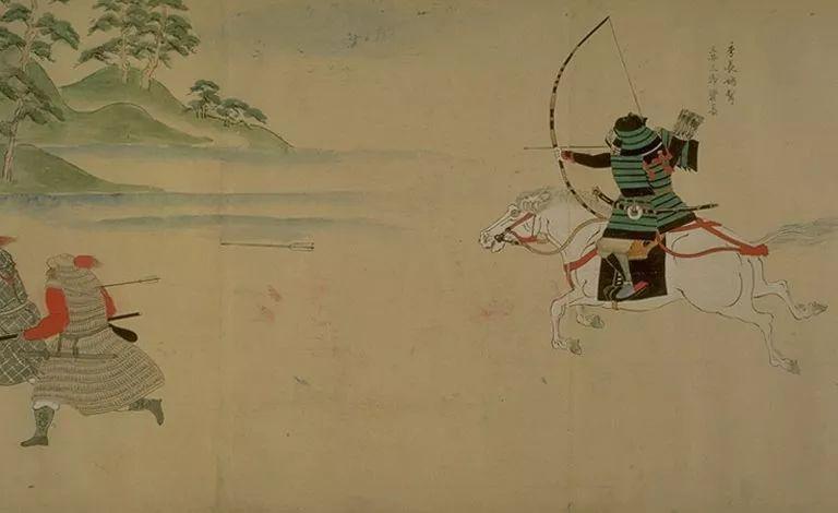 日本传世名画《蒙古袭来绘词》 第16张