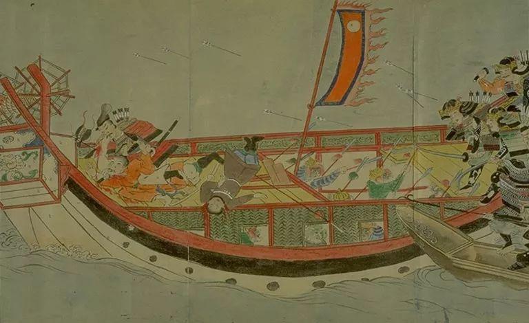 日本传世名画《蒙古袭来绘词》 第19张