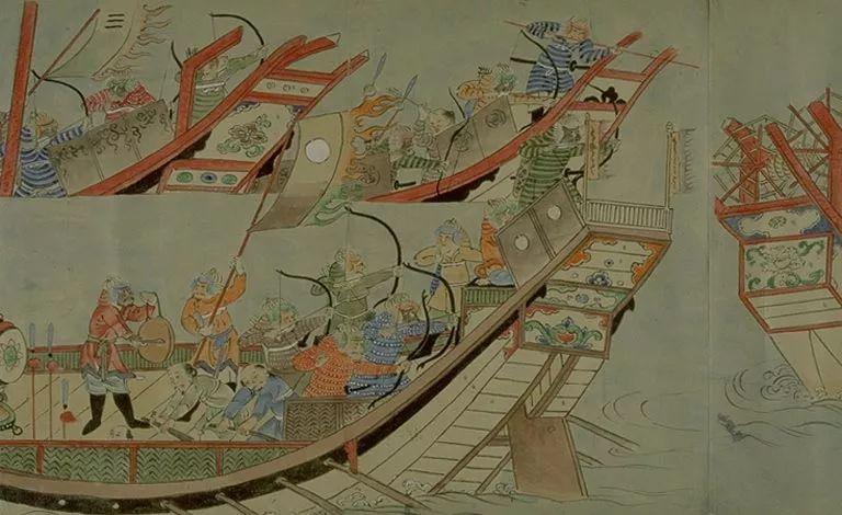 日本传世名画《蒙古袭来绘词》 第20张