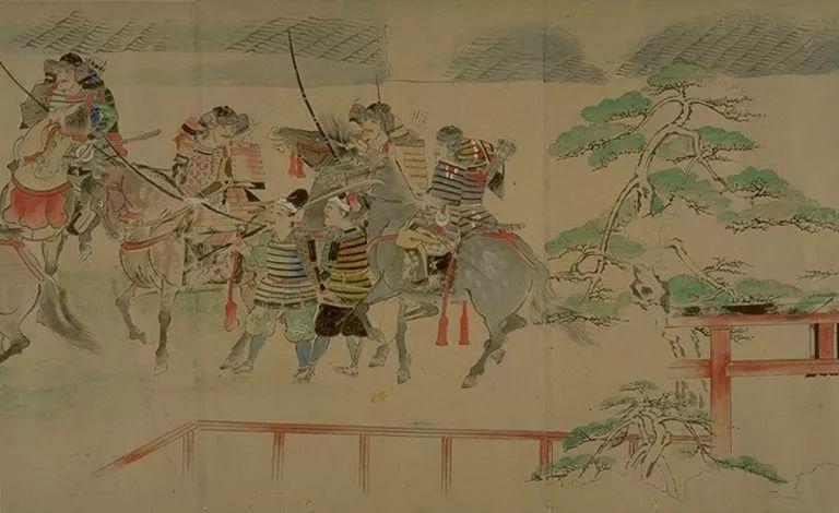 日本传世名画《蒙古袭来绘词》 第23张