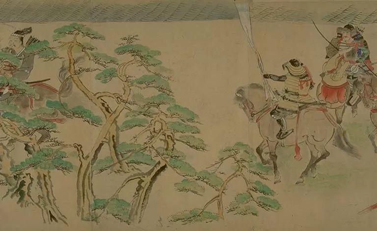 日本传世名画《蒙古袭来绘词》 第24张