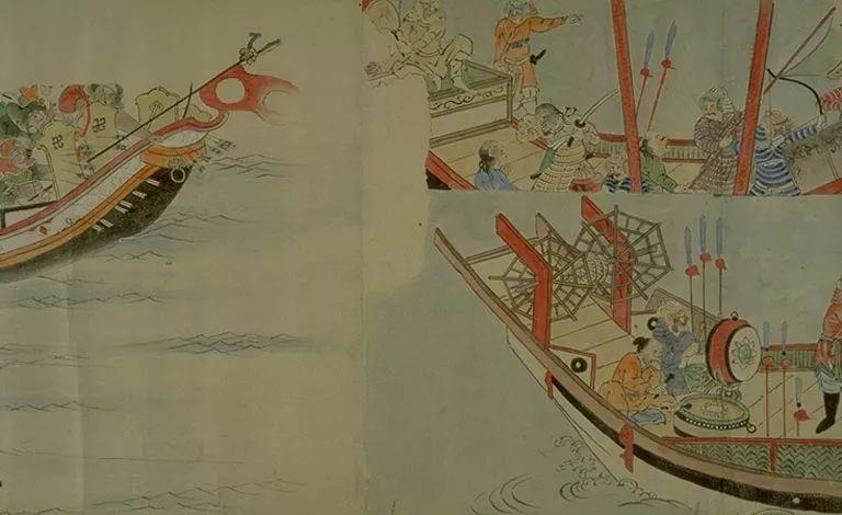 日本传世名画《蒙古袭来绘词》 第25张