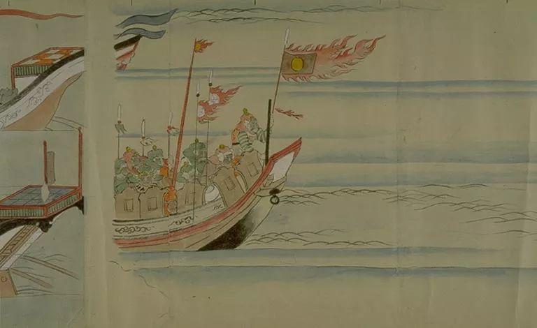 日本传世名画《蒙古袭来绘词》 第27张