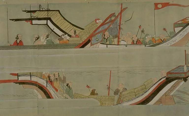 日本传世名画《蒙古袭来绘词》 第28张