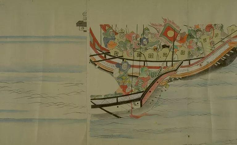 日本传世名画《蒙古袭来绘词》 第26张