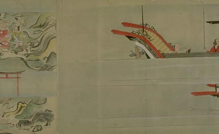 日本传世名画《蒙古袭来绘词》 第29张