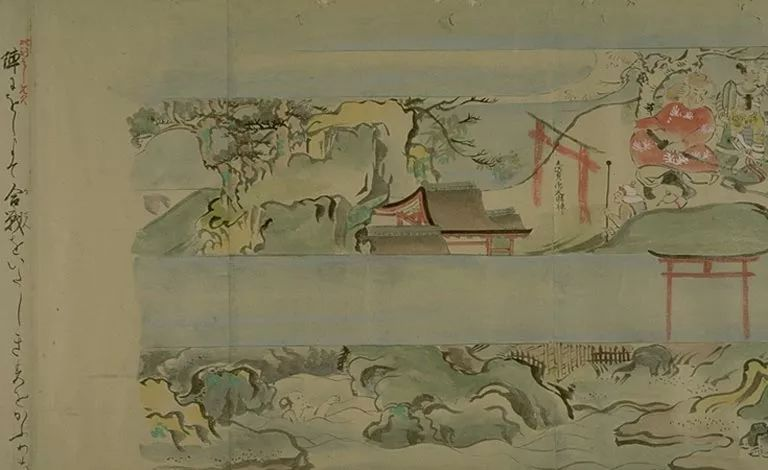 日本传世名画《蒙古袭来绘词》 第30张
