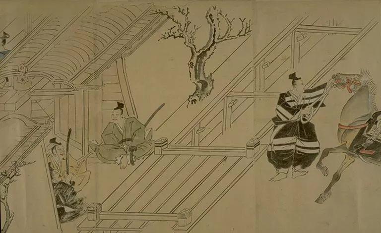 日本传世名画《蒙古袭来绘词》 第34张