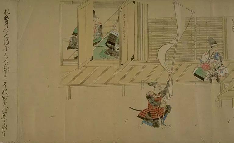 日本传世名画《蒙古袭来绘词》 第51张