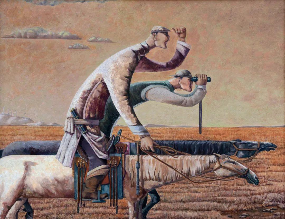 家乡美 | 科尔沁首届油画作品展部分作品(上) 第4张
