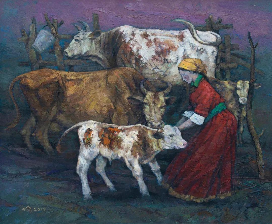 家乡美 | 科尔沁首届油画作品展部分作品(上) 第10张