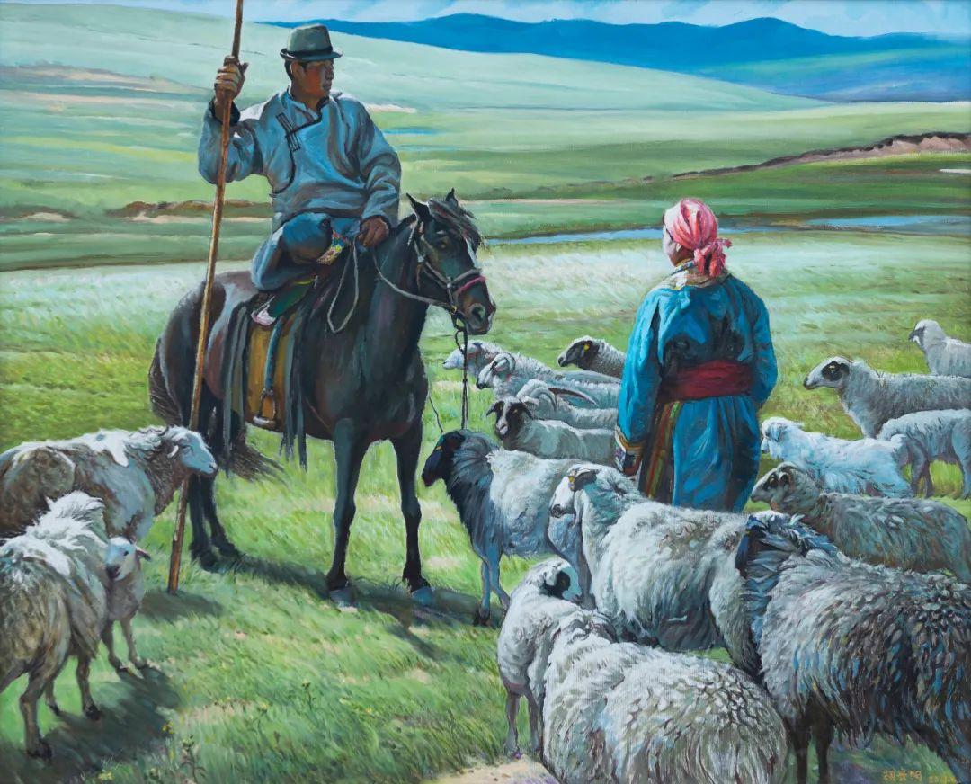 家乡美 | 科尔沁首届油画作品展部分作品(上) 第12张