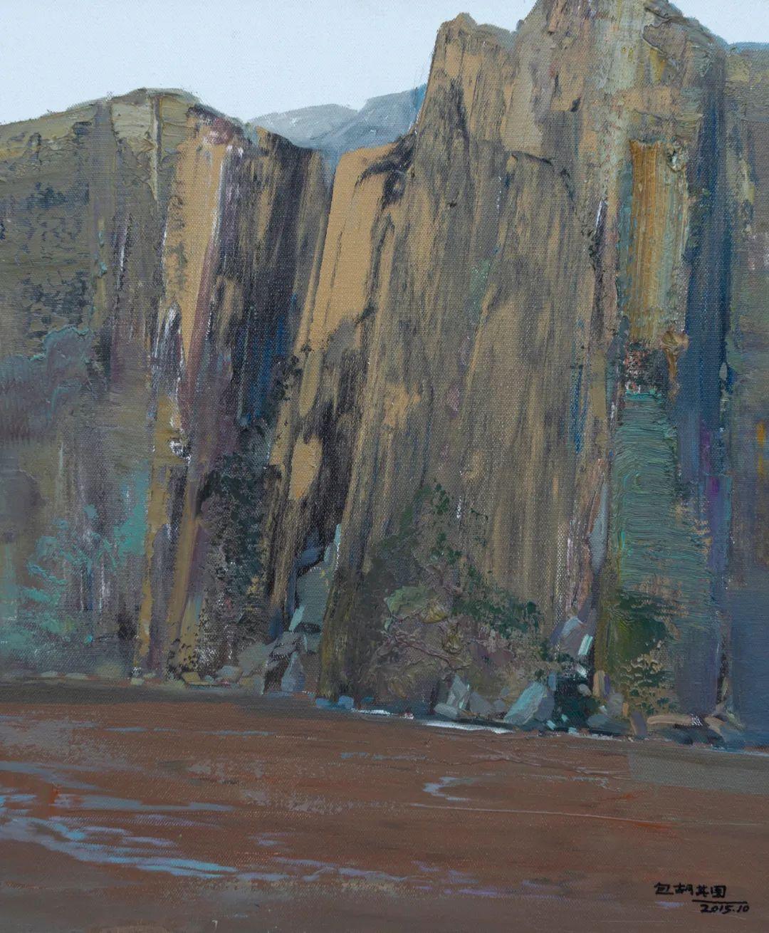 家乡美 | 科尔沁首届油画作品展部分作品(上) 第11张