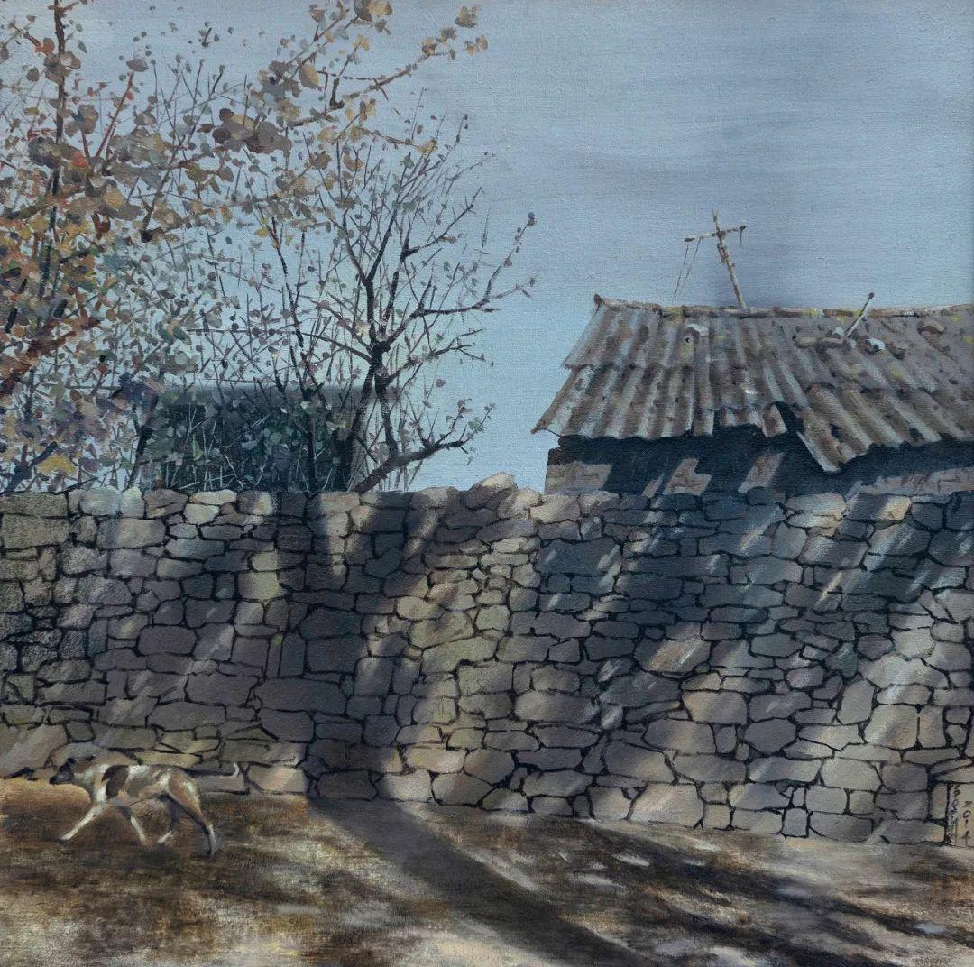家乡美 | 科尔沁首届油画作品展部分作品(上) 第13张