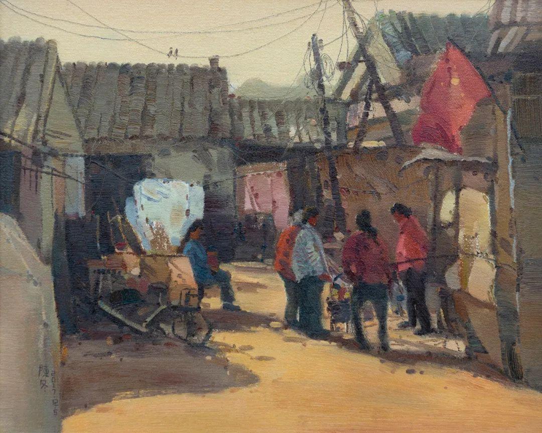 家乡美 | 科尔沁首届油画作品展部分作品(上) 第16张