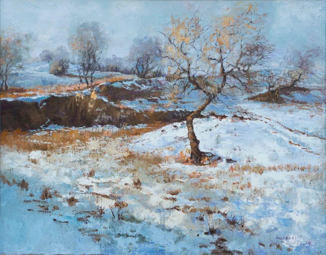 家乡美 | 科尔沁首届油画作品展部分作品(上) 第18张