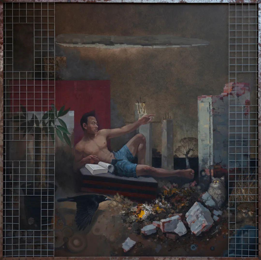 家乡美 | 科尔沁首届油画作品展部分作品(上) 第20张