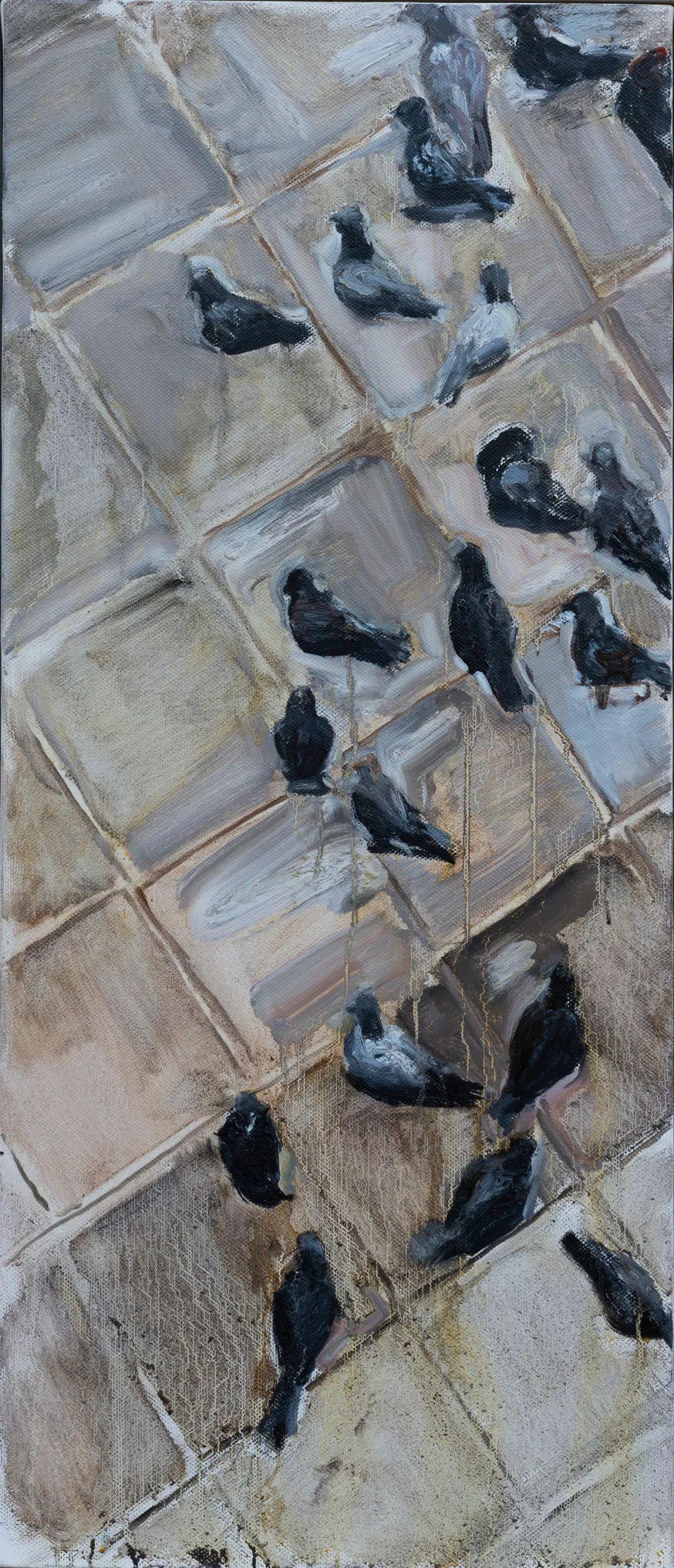家乡美 | 科尔沁首届油画作品展部分作品(上) 第21张