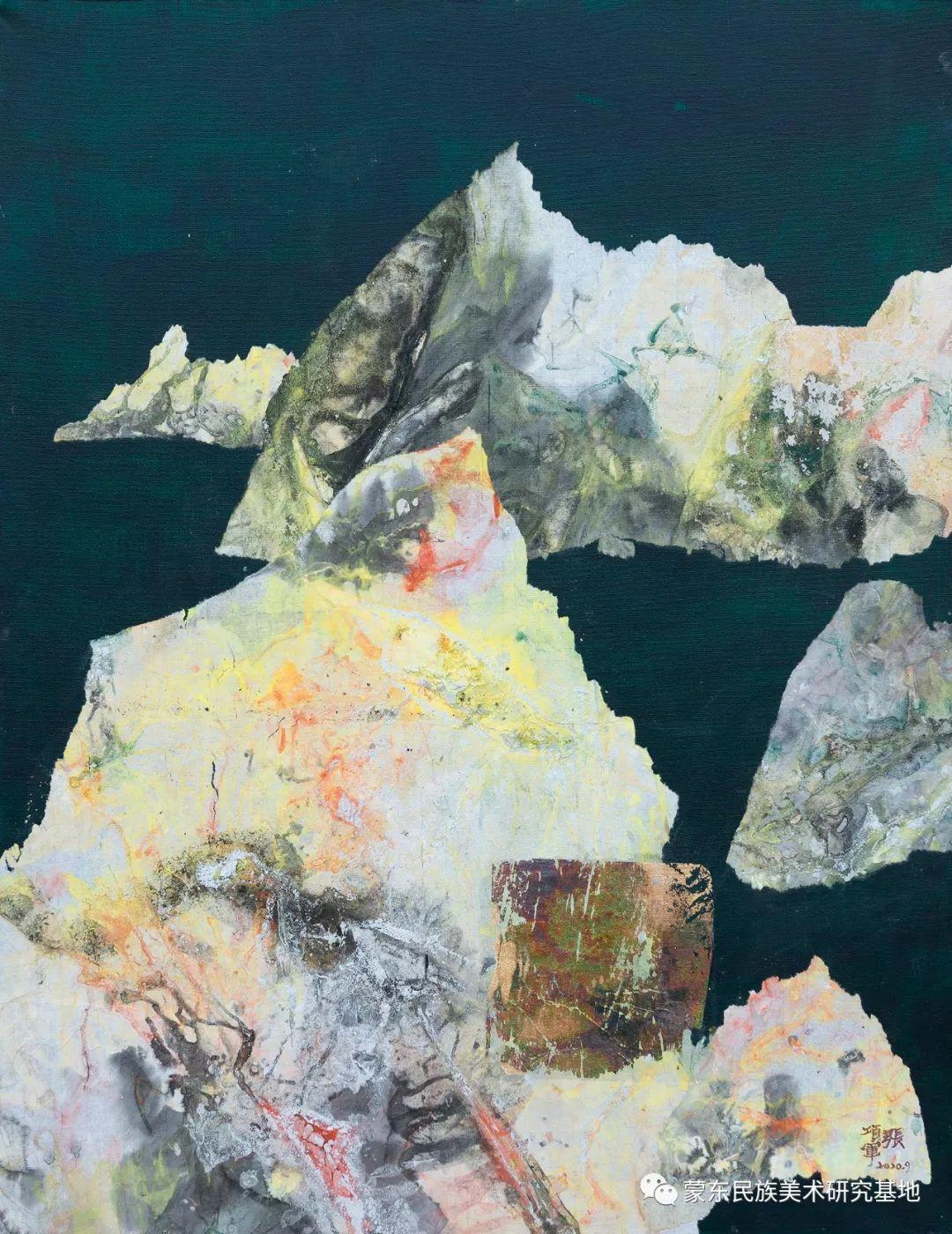 科尔沁首届油画展作品集 第12张 科尔沁首届油画展作品集 蒙古画廊