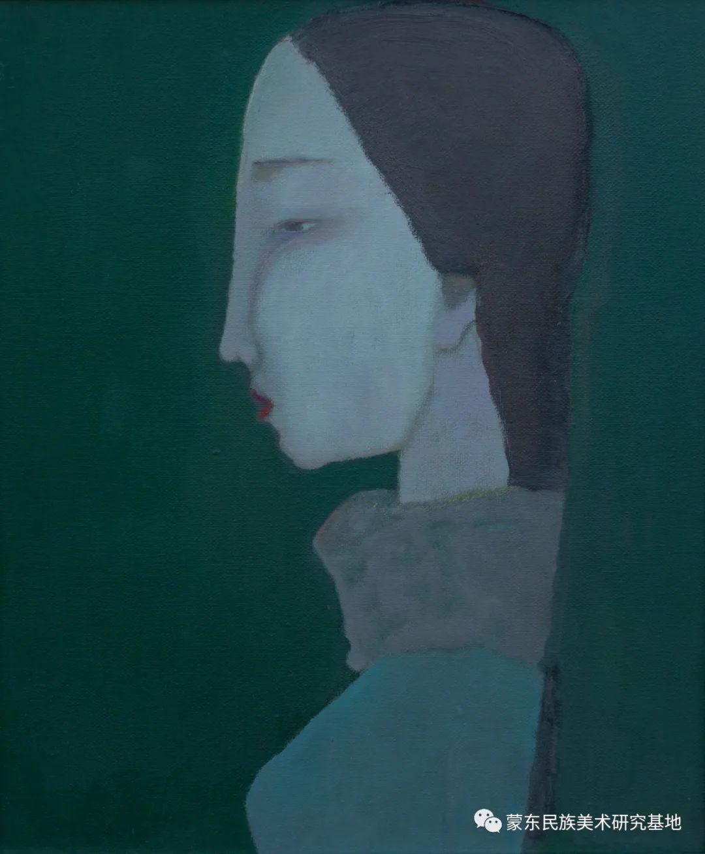 科尔沁首届油画展作品集 第19张 科尔沁首届油画展作品集 蒙古画廊