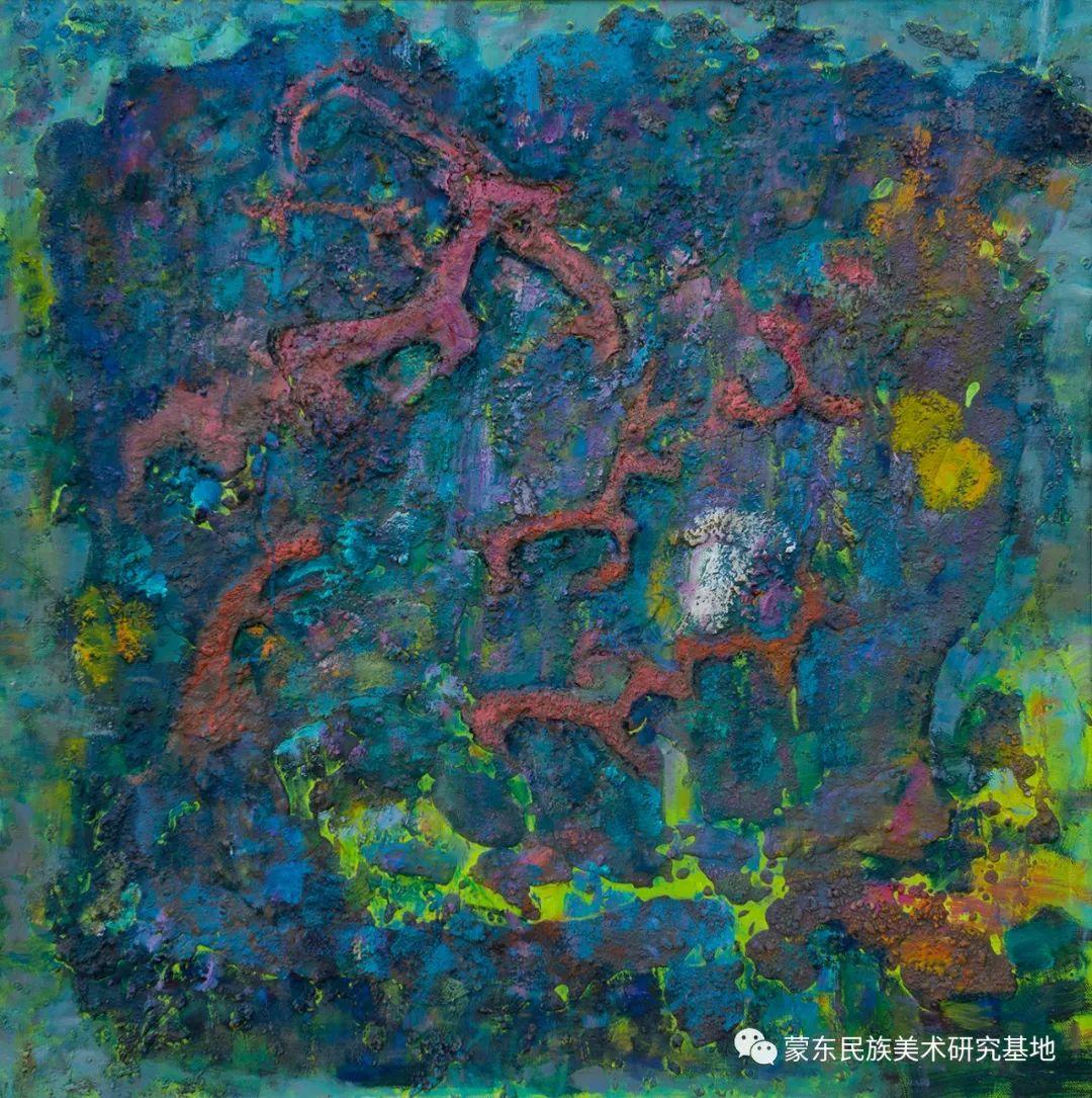 科尔沁首届油画展作品集 第34张 科尔沁首届油画展作品集 蒙古画廊