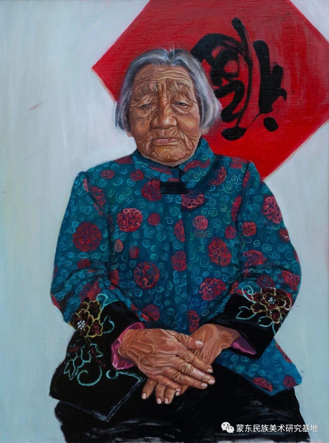 科尔沁首届油画展作品集 第37张 科尔沁首届油画展作品集 蒙古画廊