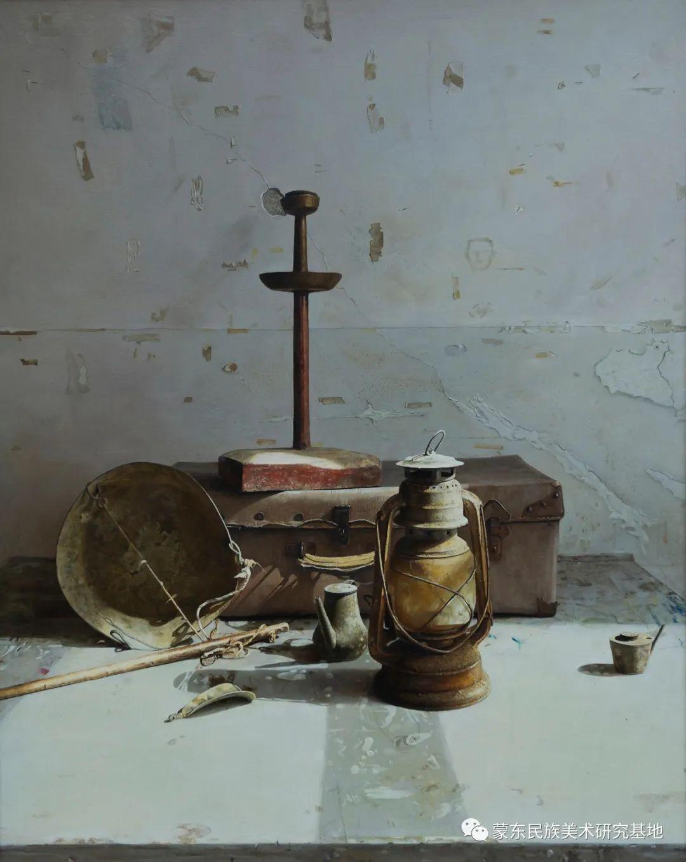 科尔沁首届油画展作品集 第39张 科尔沁首届油画展作品集 蒙古画廊