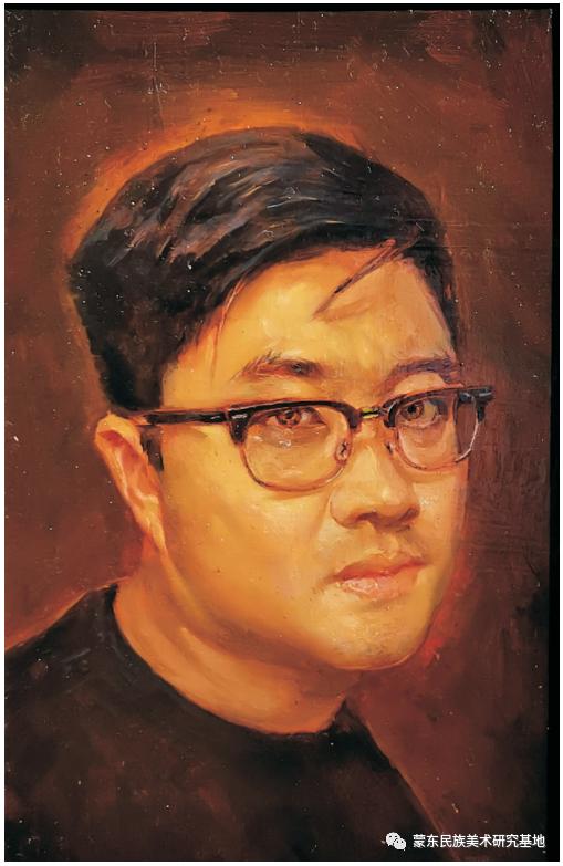 科尔沁首届油画展作品集 第52张 科尔沁首届油画展作品集 蒙古画廊