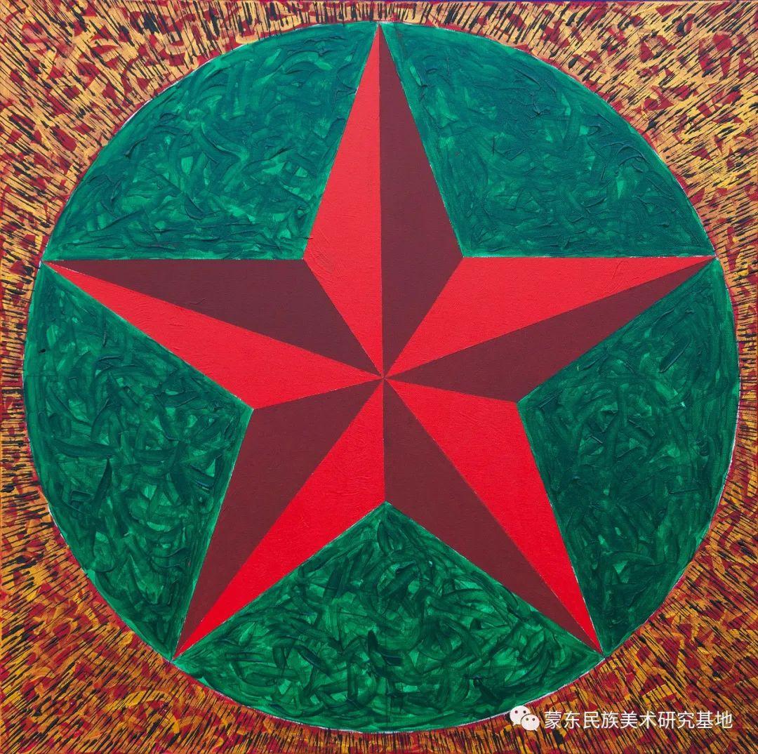科尔沁首届油画展作品集 第62张 科尔沁首届油画展作品集 蒙古画廊