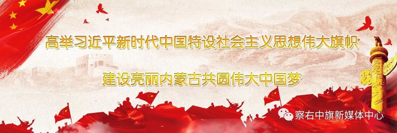 学习宣传贯彻党的十九大精神宣传标语(附蒙文) 第1张