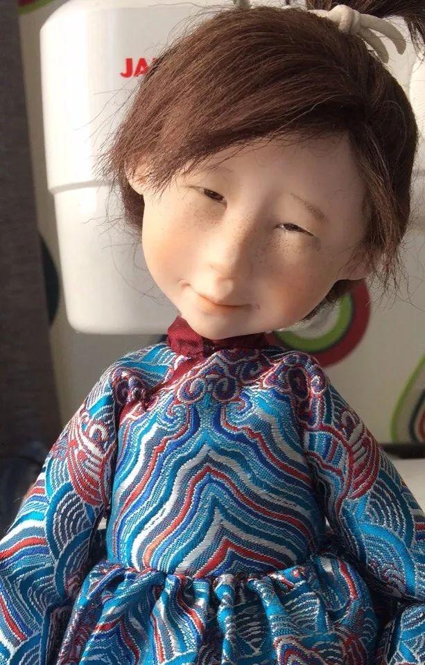布里亚特美女制作的蒙古布娃娃,太可爱了! 第2张
