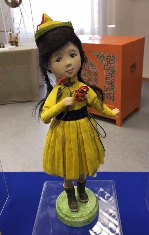 布里亚特美女制作的蒙古布娃娃,太可爱了! 第5张