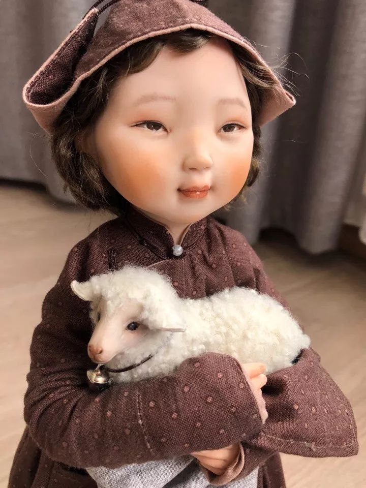 布里亚特美女制作的蒙古布娃娃,太可爱了! 第4张