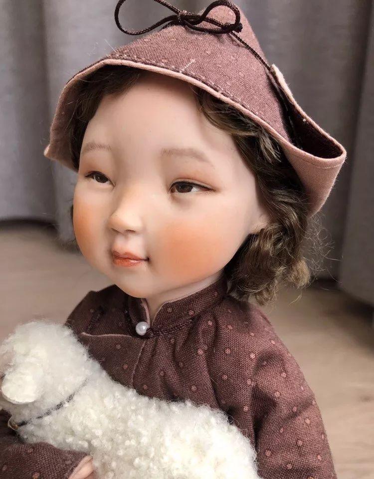 布里亚特美女制作的蒙古布娃娃,太可爱了! 第6张