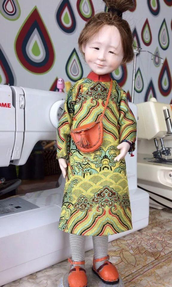 布里亚特美女制作的蒙古布娃娃,太可爱了! 第7张