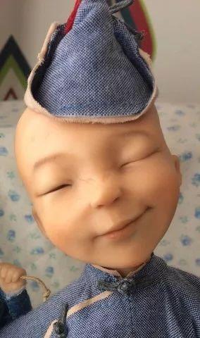 布里亚特美女制作的蒙古布娃娃,太可爱了! 第9张