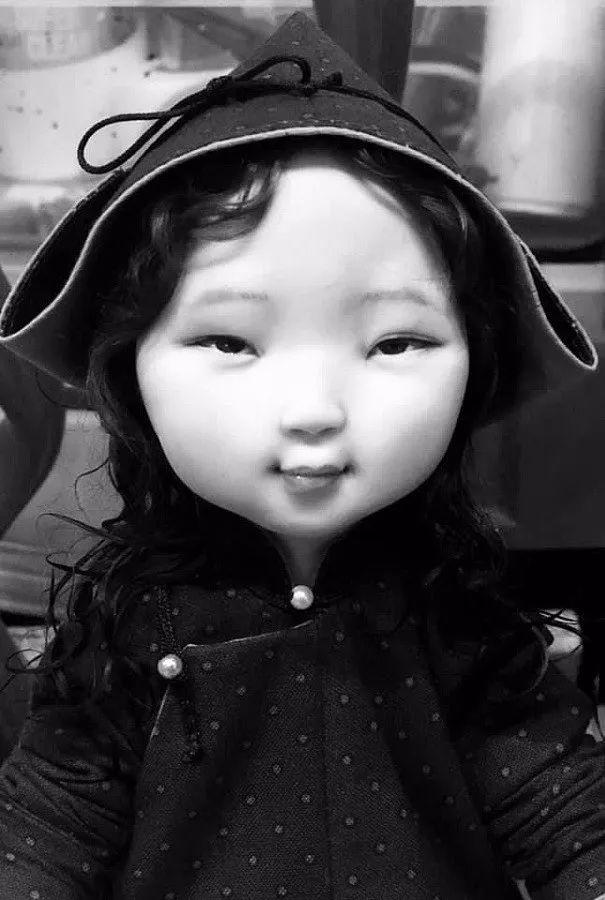 布里亚特美女制作的蒙古布娃娃,太可爱了! 第8张