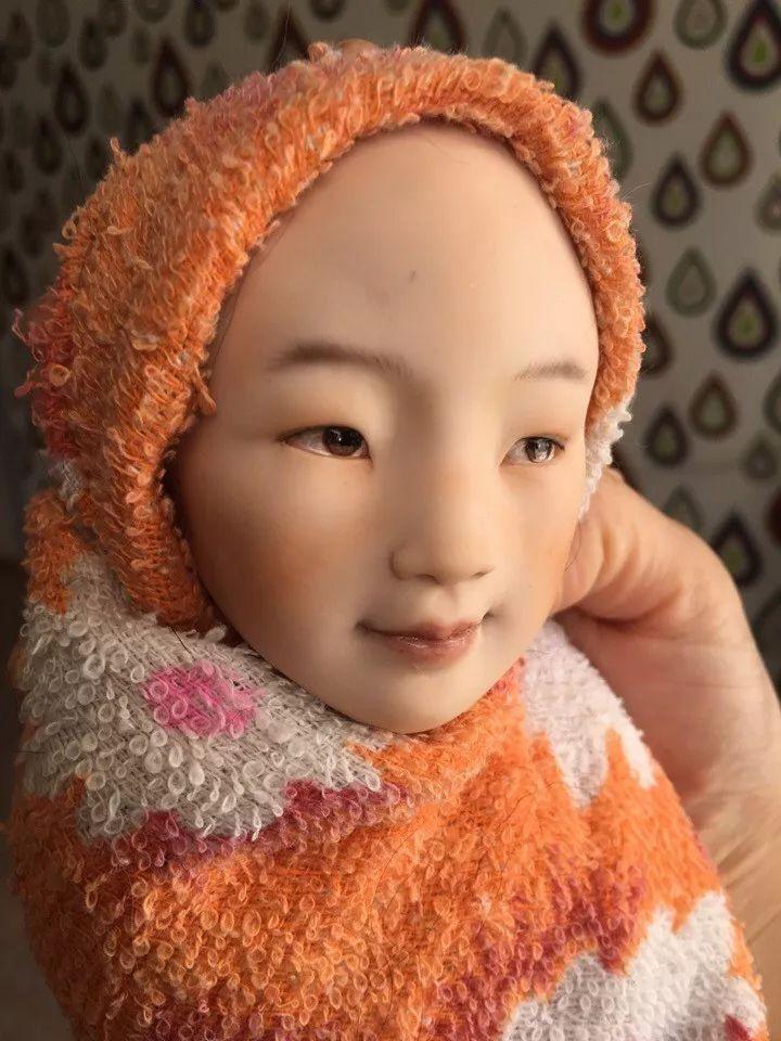 布里亚特美女制作的蒙古布娃娃,太可爱了! 第12张
