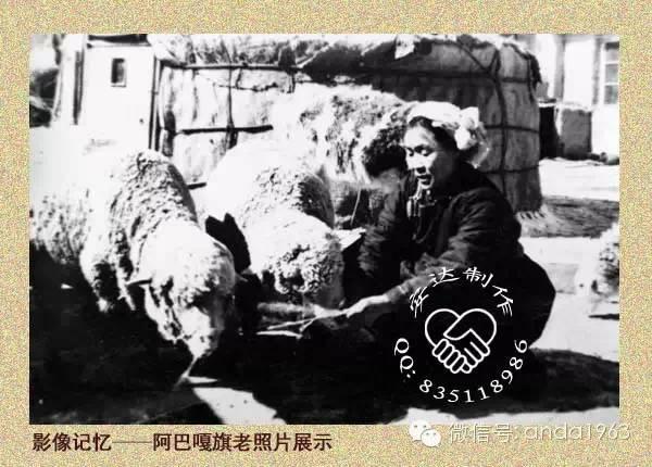七十年代内蒙古草原上的冬季...