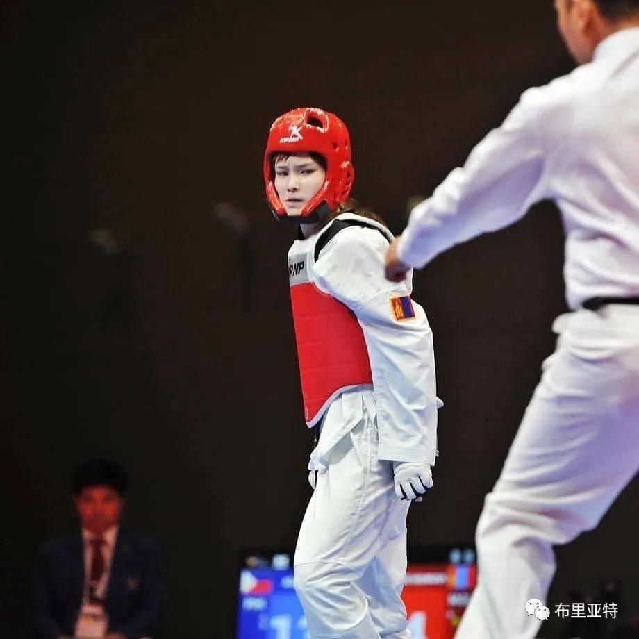 高颜值,好身材,欣赏蒙古跆拳道女神 第14张