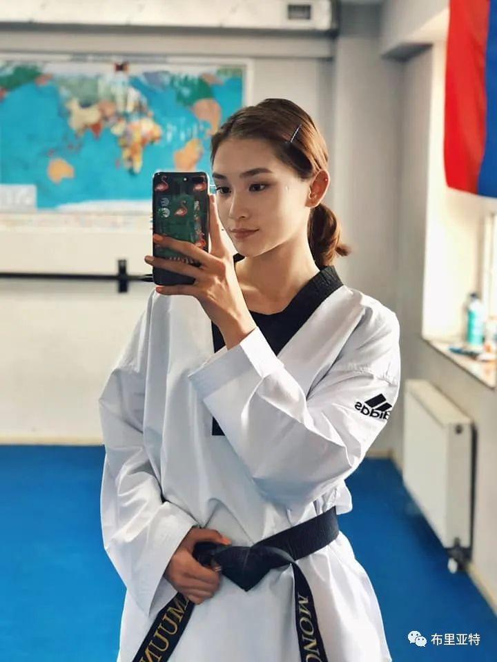 高颜值,好身材,欣赏蒙古跆拳道女神 第15张