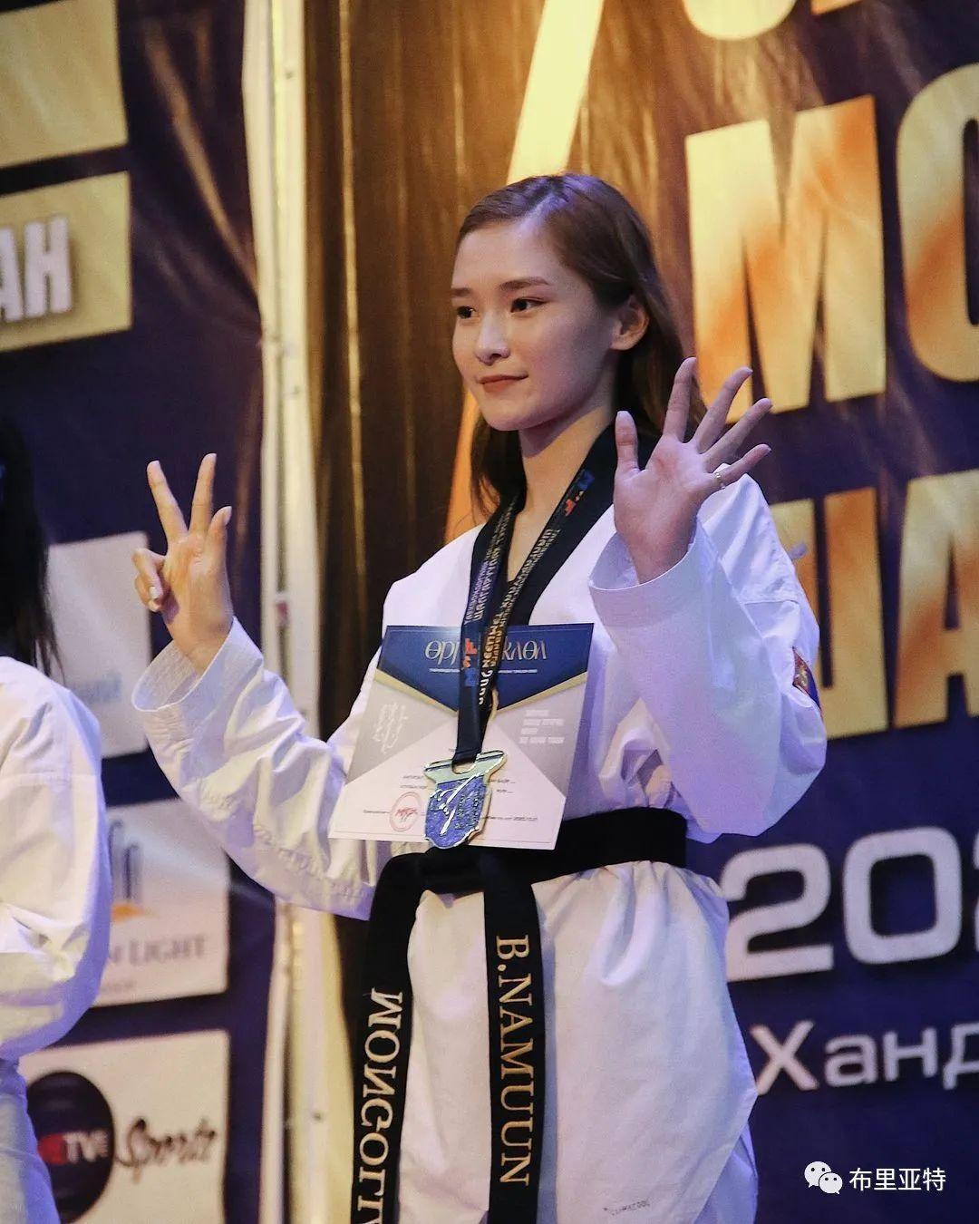 高颜值,好身材,欣赏蒙古跆拳道女神 第16张