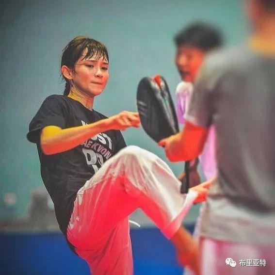 高颜值,好身材,欣赏蒙古跆拳道女神 第23张