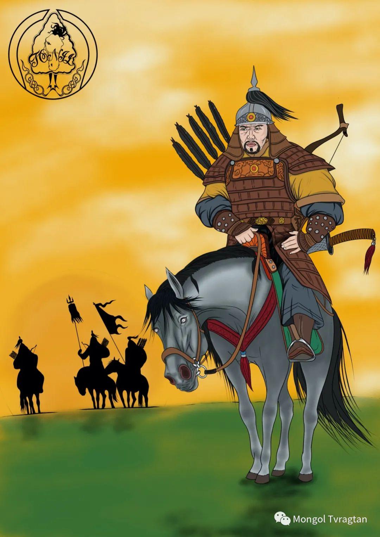 德都蒙古   自由插画师:扎格塔