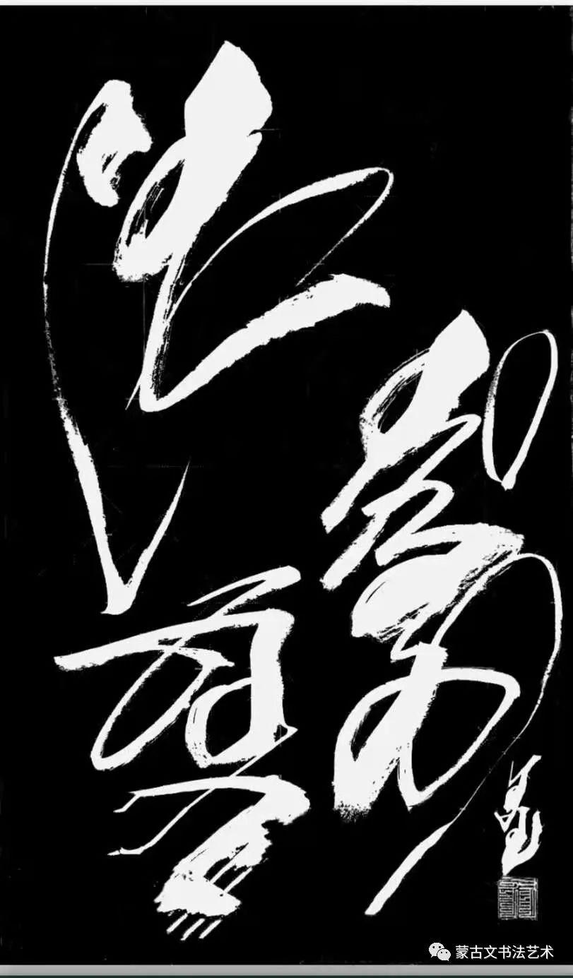 白苏雅拉书法作品欣赏 第3张
