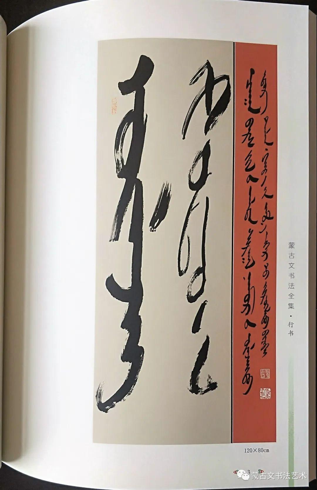蒙古文书法全集 第13张