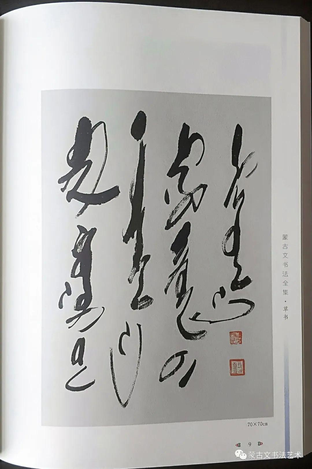 蒙古文书法全集 第19张